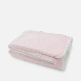 MAYORAL Κουβέρτα αγκαλιάς βελούρ,9291 ΡΟΖ