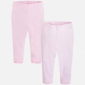 Σετ κολάν με πτυχωτό βολάν MAYORAL ,729 pink