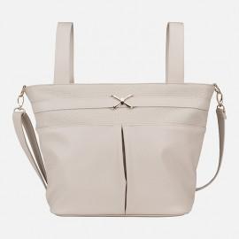 Τσάντα για καρότσι με λαβές MAYORAL,19415 ΕΚΡΟΥ