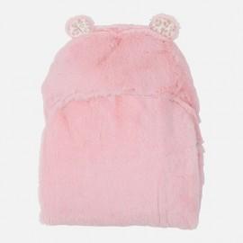MAYORAL Κουβέρτα γουνάκι με κουκούλα 9531 ΣΑΠΙΟ ΜΗΛΟ