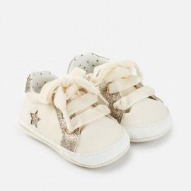 Παπούτσια αθλητικά δέρμα nobuck MAYORAL,9643 ΕΚΡΟΥ
