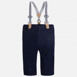 Παντελόνι μακρύ με τιράντες mayoral,2527 μπλε