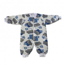 Υπνόσακος Tender Αρκουδάκι,εκρου μπλε