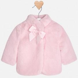 Mayoral Παλτό γουνάκι ,ροζ 2438