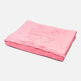 Κουβέρτα αγκαλιας για μωρό,9853 ΡΟΥΖ