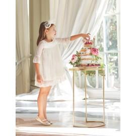 Φόρεμα γκιπούρ 5004 ,abel & lula