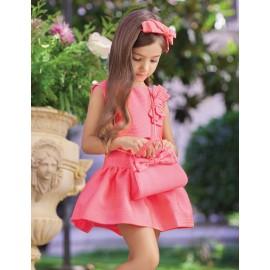Φόρεμα με φιόγκο 5019 , ABEL & LULA