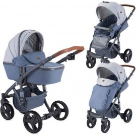 Lorelli Bertoni Rimini 2 in 1 Grey Rhombs