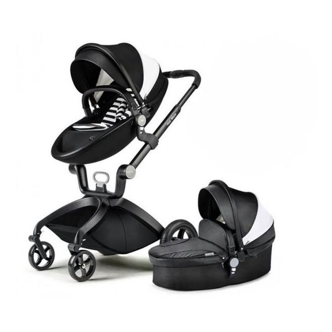 Καροτσάκι μαύρο μωρού Hot Mom