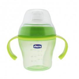 Chicco Κύπελλο Rolly Πράσινο 12m+ 180ml, Κύπελλο για υγρές και αλεσμένες τροφές